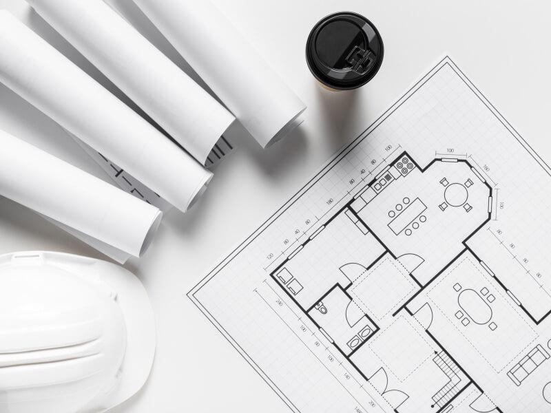 IM Bau Strasshof Bauunternehmen Haus bauen Plan